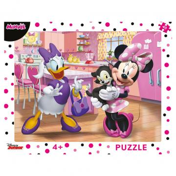 Puzzle cu rama - Minnie (40 piese)