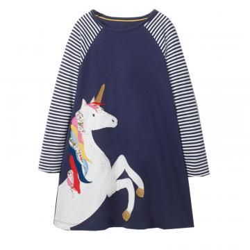 Rochita bumbac, Unicorn, bleumarin de la A&P Collections Online Srl-d