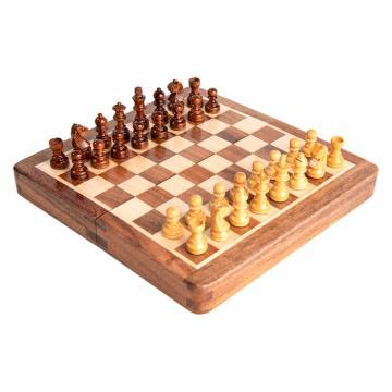 Sah magnetic lemn KH31 mm, 18x18 cm de la Chess Events Srl
