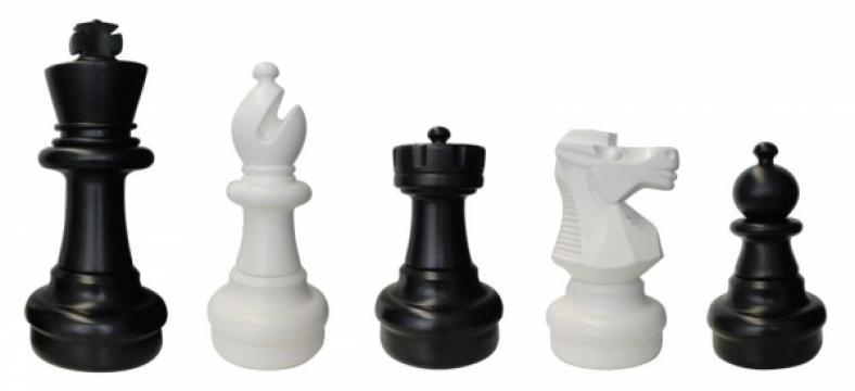 Set piese sah de gradina - mare de la Chess Events Srl