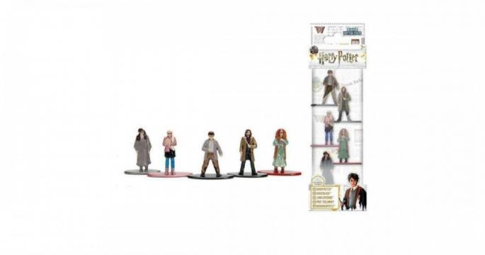Set de 5 figurine jucarie din metal Harry Potter Jada Toys de la Pepita.ro