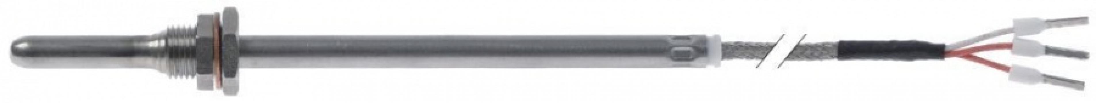 Sonda temperatura Pt100 cablu silicon, 402154