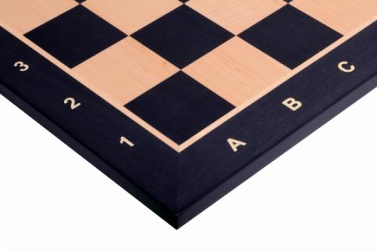Tabla de sah - lemn Black/Artar 54x54 cm, 58 mm de la Chess Events Srl