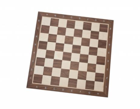 Tabla sah lemn no 7 - nuc/artar (walnut/maple) de la Chess Events Srl