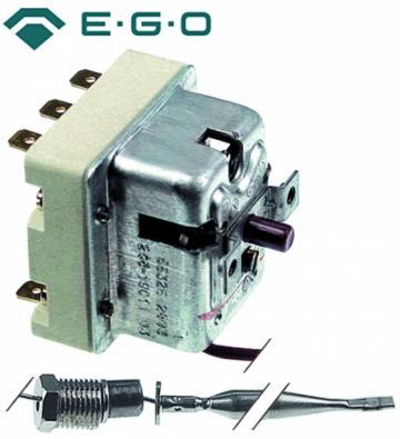 Termostat de siguranta 245C, 3 poli, 20A, M10x1, bulb 6mmx75