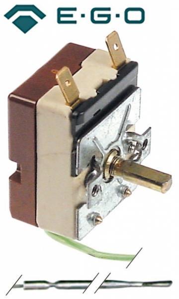 Termostat reglabil 100-195C, 1NO, 16A