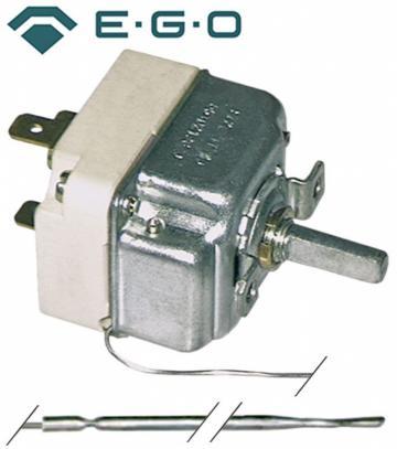 Termostat reglabil 30-82C, 1CO, 16A, bulb 3mm-156mm