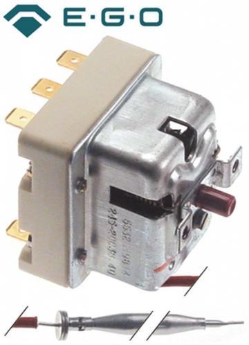 Termostat de siguranta 245C, 3 poli, 0.5A, bulb 6mmx79mm