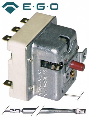 Termostat de siguranta 500C, 3 poli, 20A, bulb 4mmx308mm