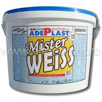 Vopsea lavabila Mister Weiss de la Altdepozit Srl