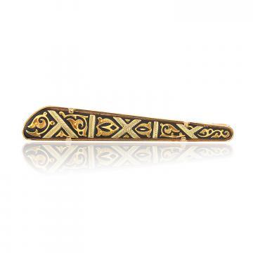 Ac de cravata incrustat cu aur - Toledo de la Luxury Concepts Srl