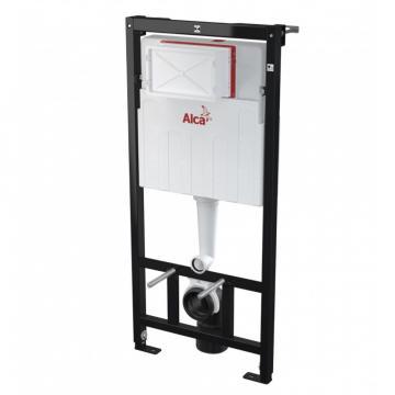 Cadru de fixare WC suspendat, AlcaPlast, rezervor ingropat de la Sanito Distribution Srl