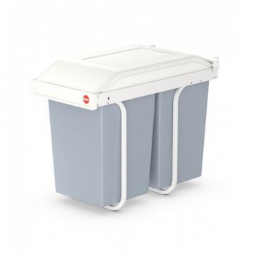 Cos gunoi Hailo Multi Box Duo L, 2x14 litri
