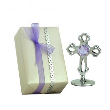 Figurina Cruciulita cu cristale Swarovski de la Luxury Concepts Srl