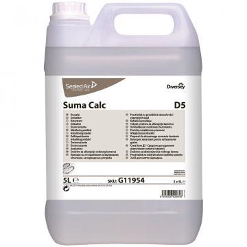 Detergent detartrant bucatarie Suma Calc D5, Diversey, 5L