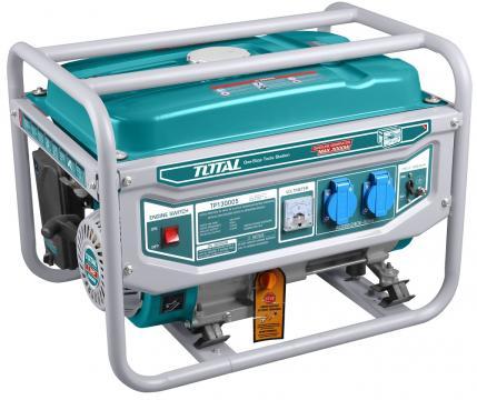 Generator electric - Total, pe benzina - 2800W de la Micul Gospodar