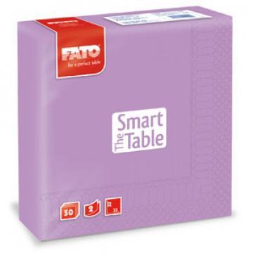 Servetele 33x33 cm, 2 straturi, Smart Table Lilac, Fato