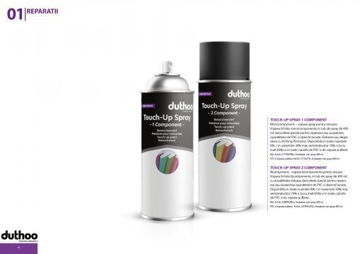 Vopsea spray pentru retus Touch-up spray 1 Component de la Promob Trading Co SRL