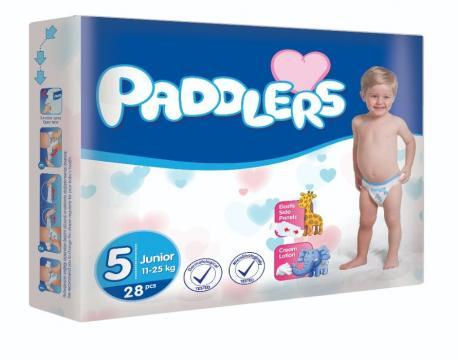 Scutece copii Paddlers, marime 5, Junior,208 buc/set,11-25kg de la Europe One Dream Trend Srl