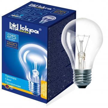 Bec incandescent A50, 25W, 230V, 220LM, E27 - Iskra de la BCV International Group