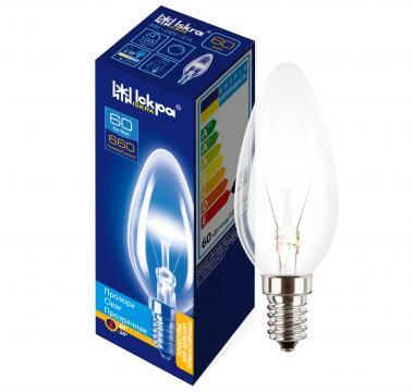 Bec incandescent B35, 60W, 230V, 660LM, E14 - Iskra de la BCV International Group