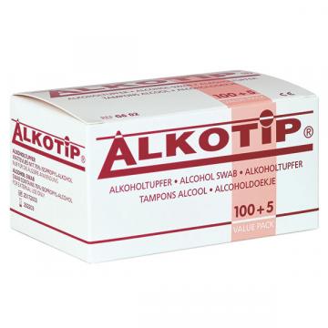 Servetele alcool Alkotip 6.5 x 3 cm - plic igienic - box 200 de la Hoba Ecologic Air System Srl
