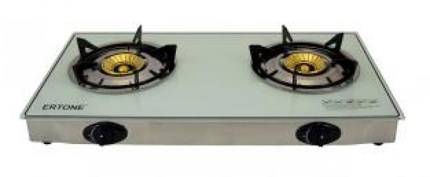 Aragaz cu 2 arzatoare Ertone Design GPL ERT-MN 202 de la Preturi Rezonabile