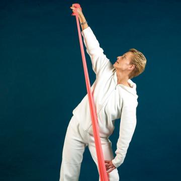 Banda elastica Servofit - 5.5 m - violet - fest