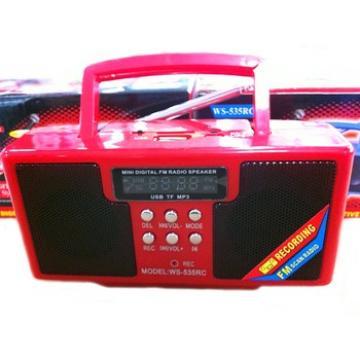 Boxa portabila cu MP3 si Radio Fm WS-53RC