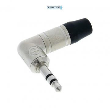 Conector Jack Tata 3.5 mm la 90� cu 3 poli Neutrik NTP3RC de la Sc Rolling Serv Srl