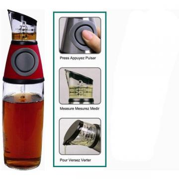 Dispenser din sticla cu gradatii pentru ulei si otet