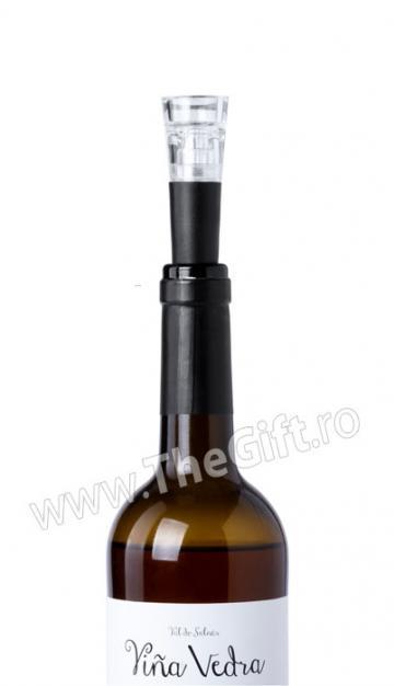 Dop cu vaccum pentru sticla de vin