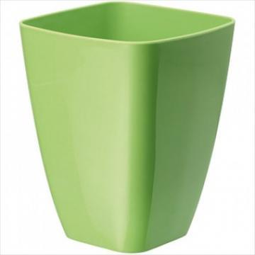 Ghiveci plastic patrat, Strend Pro Orchid, 13 cm, orange de la Viva Metal Decor Srl