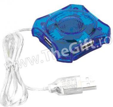 Hub USB cu 4 porturi de la Thegift.ro - Cadouri Online