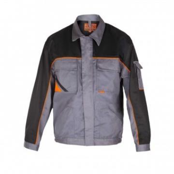 Jacheta protectie Profesional, gri-negru, marimea 48