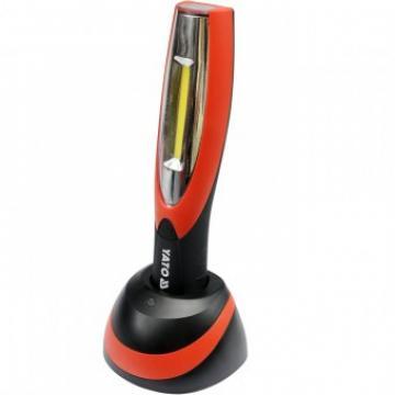 Lampa portabila cu acumulator, cu led, 2 in 1, Yato YT-08502 de la Viva Metal Decor Srl