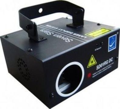 Laser SD01RG cu display LCD si proiectie texte, logo, mesaje
