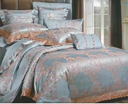 Lenjerie pentru pat dublu Jacquard