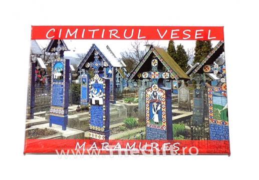 Magnet suvenir Cimitirul vesel de la Sapanta