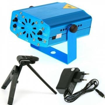 Mini proiector laser pentru interior holografic