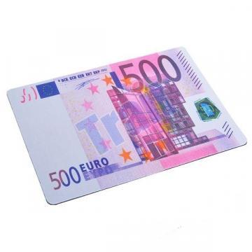 Mousepad 500 euro - 200 euro - 100 euro