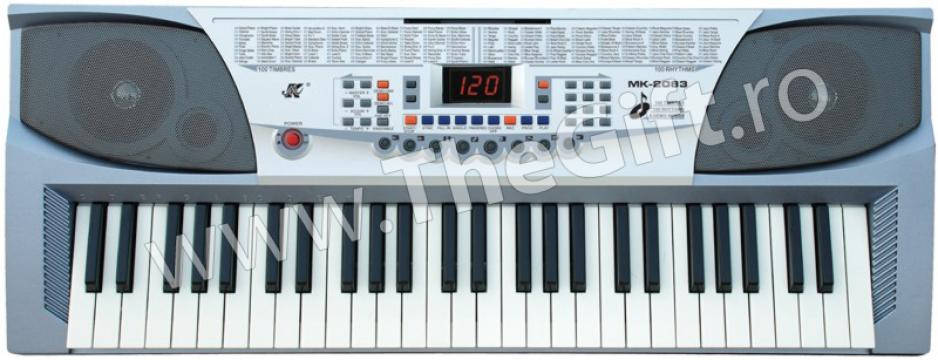 Orga electronica cu clape MK-2083 de la Thegift.ro - Cadouri Online