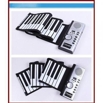 Orga flexibila cu claviatura Roll-Up 61 clape de la Www.oferteshop.ro - Cadouri Online