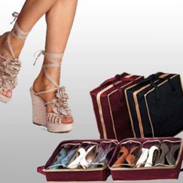 Organizator portabil pentru pantofi