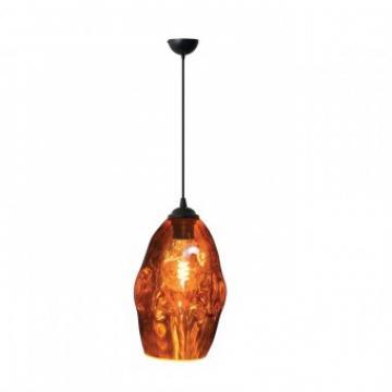 Pendula Meteor Copper, max 60W, sticla