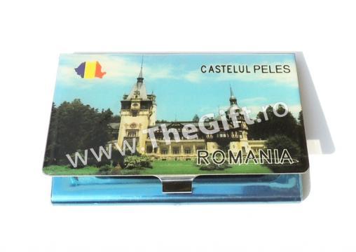 Port card metalic, Castelul Peles