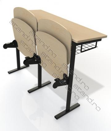 Pupitru scolar si scaune 1761 de la Rolix Impex Series Srl