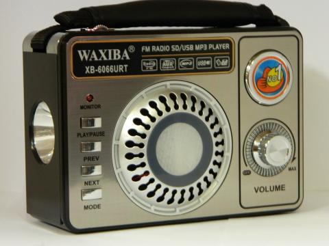 Radio portabil World Receiver Waxiba XB-6066URT de la Preturi Rezonabile
