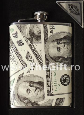Recipient pentru whisky, dolari sau euro