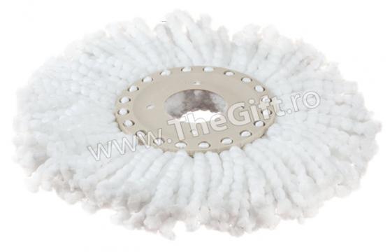 Rezerva din microfibre pentru Spin Mop